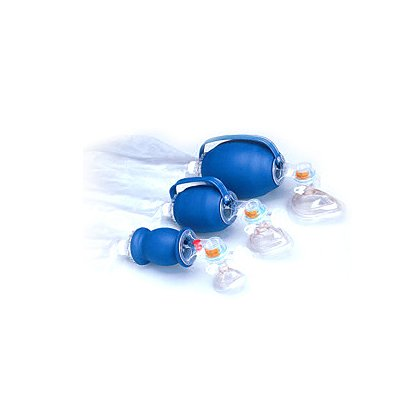 Allied Healthcare Disposable Oxygen Bag Valve Mask
