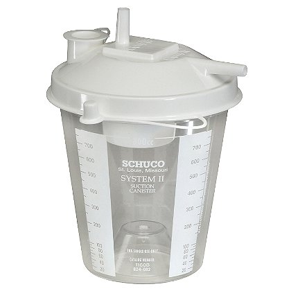 B&F Medical Disposable Collection Canister