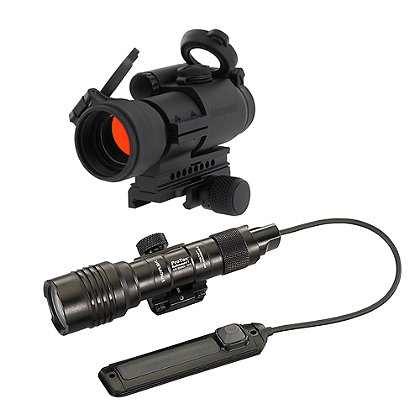 Aimpoint PRO 2MOA Dot and Streamlight ProTac Railmount 1