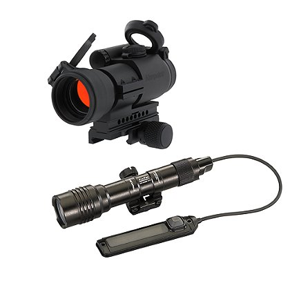 Aimpoint PRO 2MOA Dot and Streamlight ProTac Railmount 2