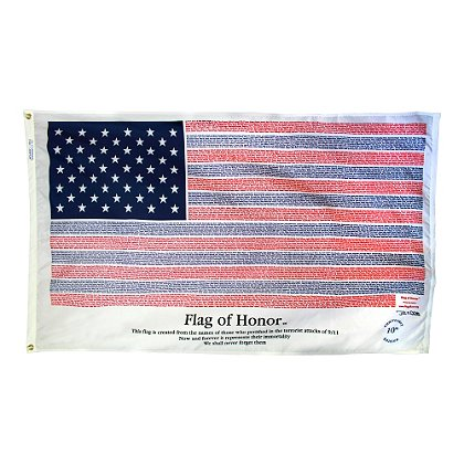 Annin Flagmakers Flag of Honor, Memorial Edition