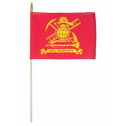 Annin Flagmakers  Poly/Cotton Firefighters' Flag