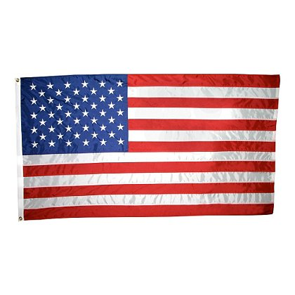Annin Flagmakers Nyl-Glo Outdoor U.S. Flag, Colorfast
