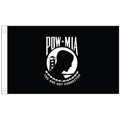 Allied Products U.S. POW/MIA Stick Flag