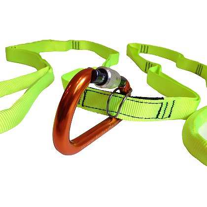 ARS Multi-Loop Rescue Strap with Carabiner