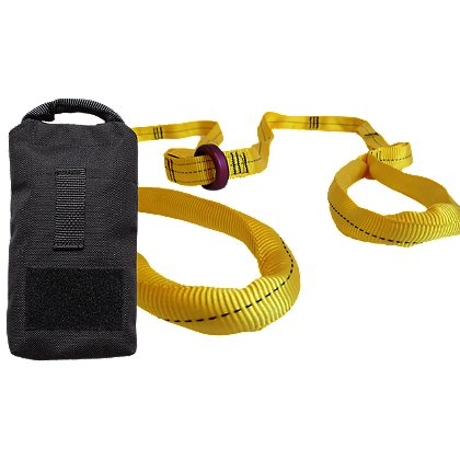 ARS Tactical Rescue Strap w/Rigging Ring and Deployment Bag Kit