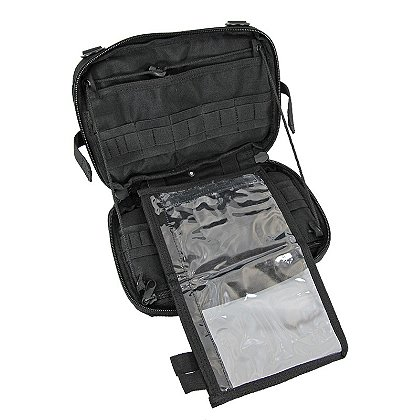 Coaxsher Fold-Down Map Case, Black