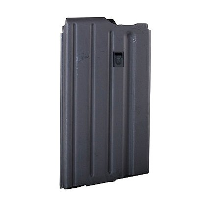 A.S.C. SR 25 Stainless Steel Magazine, 20 Round Capacity, Black, .308/7.62x51mm