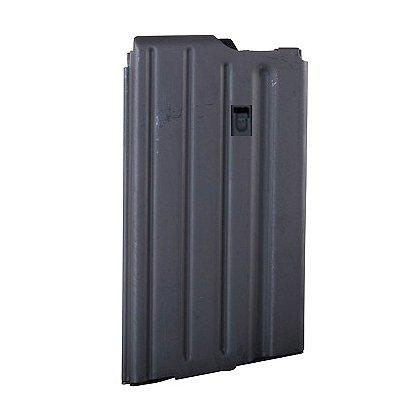 A.S.C. SR 25 Stainless Steel Magazine, 20 Round Capacity, Black, .308/7.62x51mm