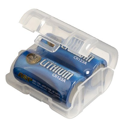 ASP CR123A Link Storage Battery Container