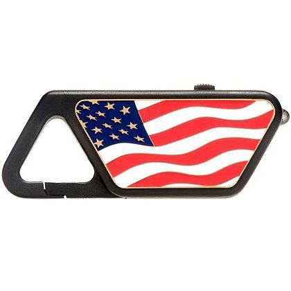 ASP American Flag Poly Sappire USB Light