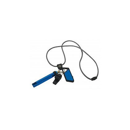 ASP Safety System, Whistle, Poly Sapphire USB & Palm Defender