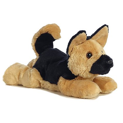 Aurora World Bismark the German Shepherd Stuffed Puppy