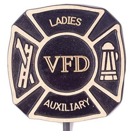 Ladies Auxiliary VFD Grave Marker