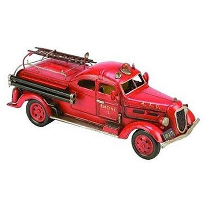 A.F.D. Metal Fire Truck