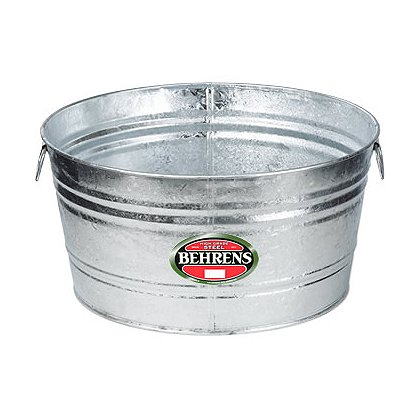 Behrens Hot Dipped Steel Round Tub