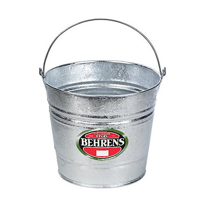 Behrens Hot Dipped Steel Pail