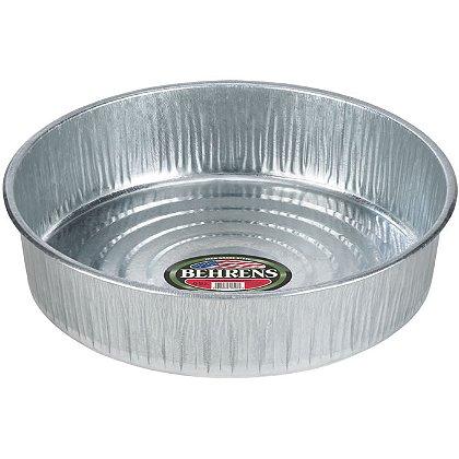 Behrens Galvanized Steel Seamless Drain/ Utility Pan