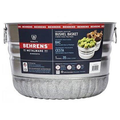 Behrens Galvanized Steel Utility Basket