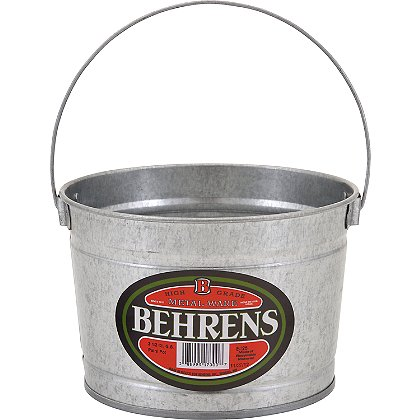 Behrens Galvanized Steel Paint Pail