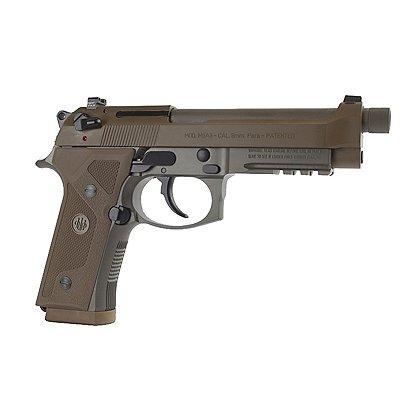 Beretta Flat Dark Earth M9A3 Semi-Automatic 9mm, (3) 10rd Magazine