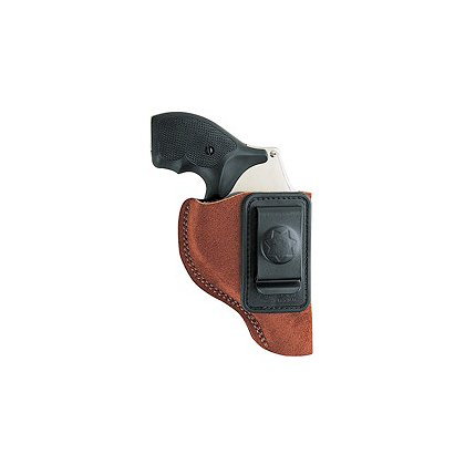 Bianchi Model 6 Waistband Holster, Rust Suede