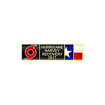 Blackinton Hurricane Harvey Commendation Bar
