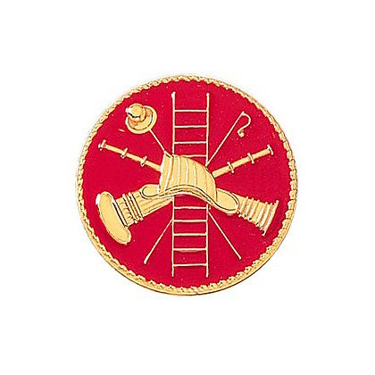 Blackinton Firefighter Scramble Collar Pin, Clutch-Back
