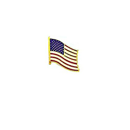 Blackinton Proud to Be American Waving American Flag Pin