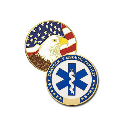 Blackinton EMS Challenge Coin