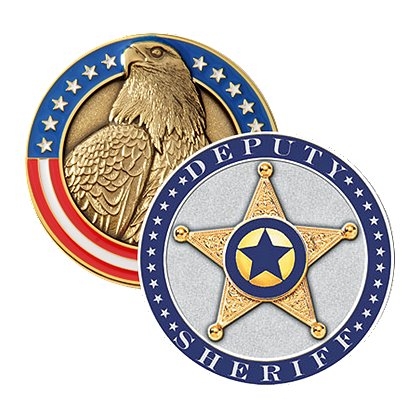Blackinton Deputy Sheriff Challenge Coin