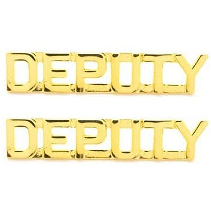 Deputy Cut Out Letters