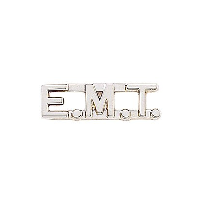 Large EMT Cut Out Letters Silver