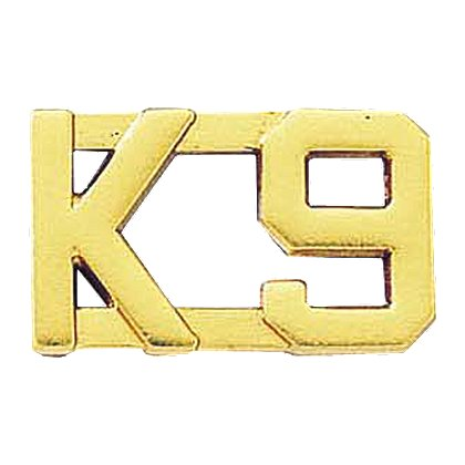 Blackinton K9 Letter Combination Pin