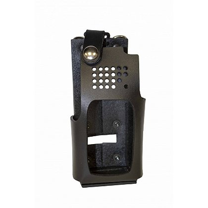Boston Leather Firefighter Radio Holder for Harris XG-25/XG-75