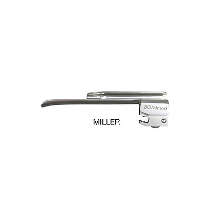 BOMImed Reusable Metal Integrated Fiber Optic Laryngoscope Blades