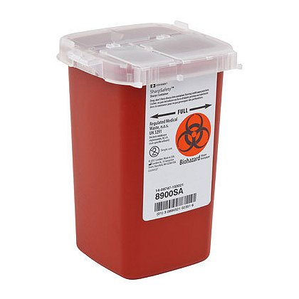 Cardinal Health SharpSafety Phlebotomy Sharps Container