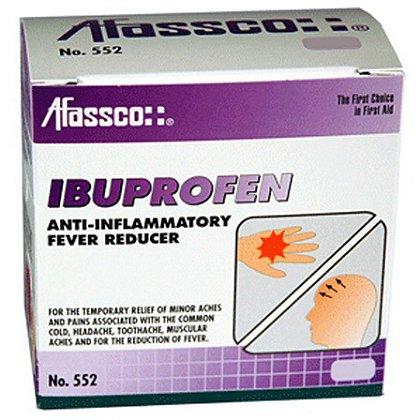 Afassco Ibuprofen Anti-Inflammatory Fever Reducer Tablets