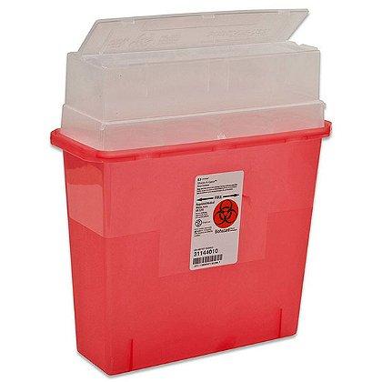 Cardinal Health 5 Quart Sharps-a-Gator Multipurpose Sharps Container