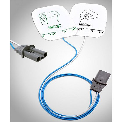 Leonhard Lang Skintact Easibeat Adult Defib Electrode Pad, Philips Heart-Start Connector