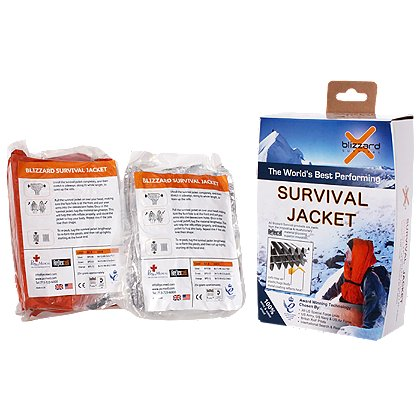 PerSys Medical Blizzard Survival Jacket, Orange
