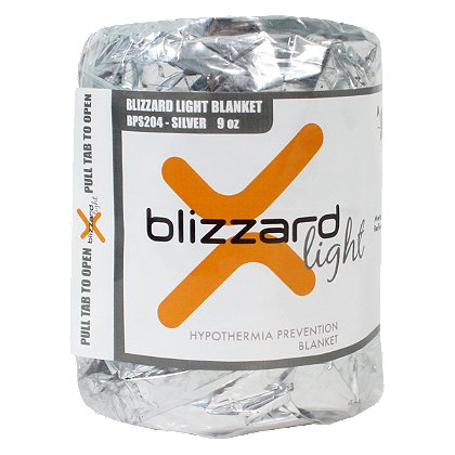 PerSys Medical Blizzard Light Blanket, Silver