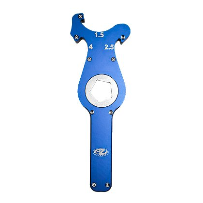 EZ Spanner Cyclops Single Hole Ratcheting Hydrant Wrench