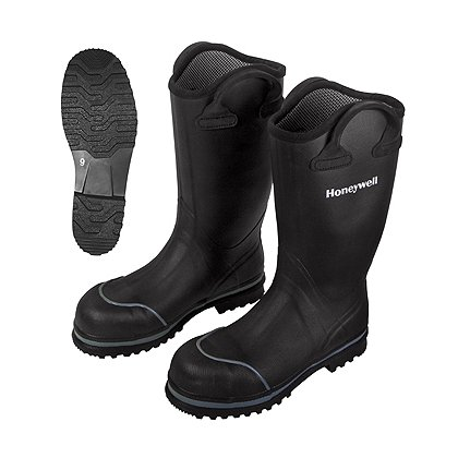 "8a4d926e3c4 Honeywell Ranger Series Model 1000 Insulated Rubber Boots, 15"", NFPA"