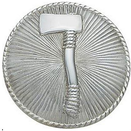 Smith & Warren Cap Badge with Single Axe