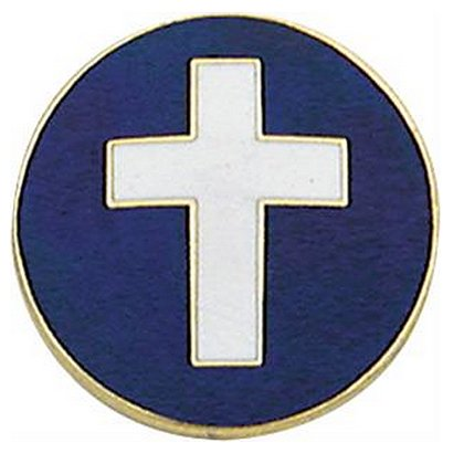 Smith & Warren Chaplain Collar Insignia, 15/16