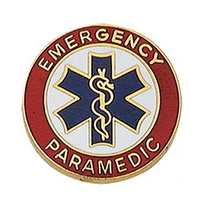 Smith & Warren Emergency Paramedic Collar Insignia