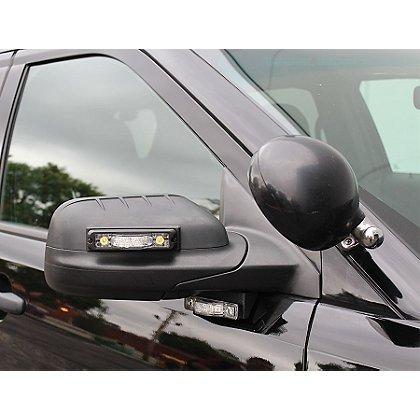Code 3 Side Mirror Bracket Mounts for M180 Light