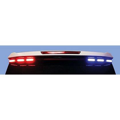 Code 3 SUV Rear Window Wingman Brackets & Special Wiring Harness