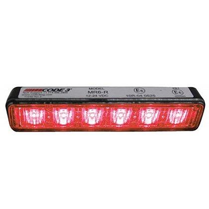 Code 3 MR6 Exterior LED Hood Mount or Flush Mount Lighthead